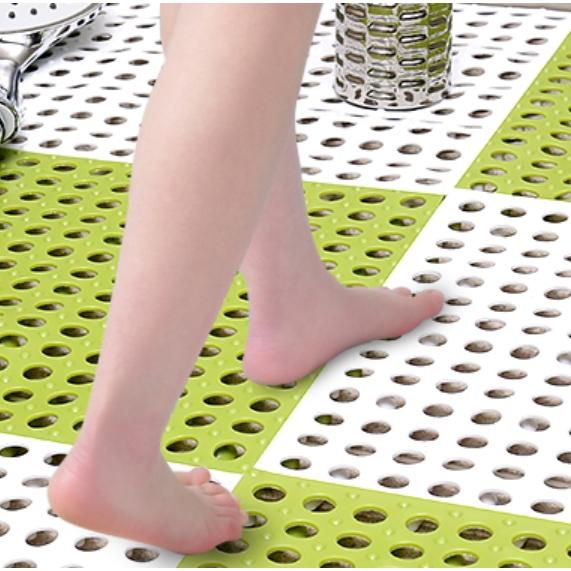 花莱雅 浴室防滑垫 30*30cm 共4片 多色可选